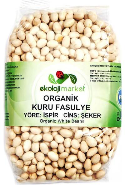 Ekoloji Market Organik Kuru Fasulye Şeker (İspir) 800Gr