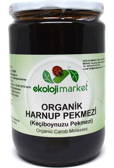 Ekoloji Market Organik Keçiboynuzu (Harnup) Pekmezi 800 Gr