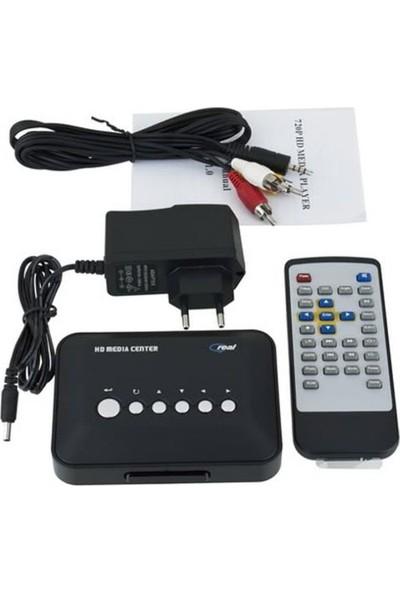 Platoon Hd 720 P Media Player Rm/Rmvb/Avı/Mpeg Hdd Tv Player Usb Ve Sd/Mmc