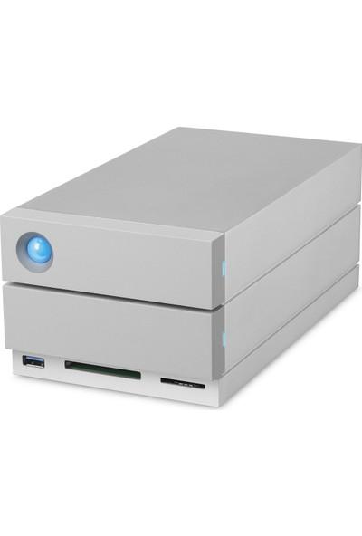 Lacie 20TB 2Big Dock Station 2xThunderbolt3+ USB 3.1 RAID 0/1 Taşınabilir Disk STGB20000400