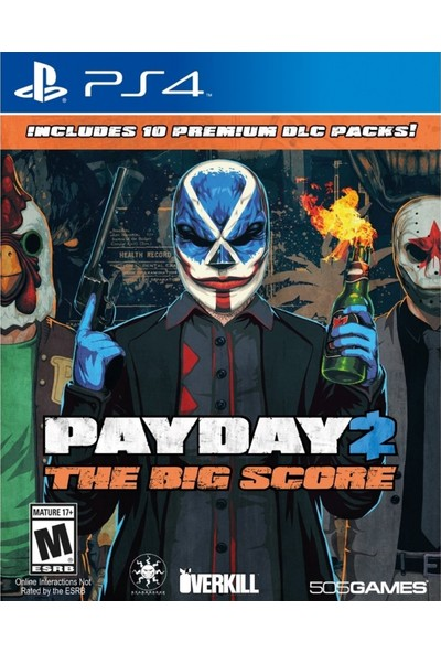 Payday 2 The Big Score PS4 Oyun