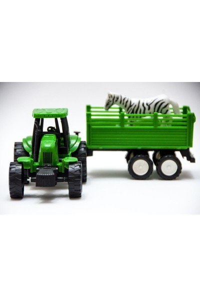 Farmer Römorklu Traktör İş Makinesi Oyuncak