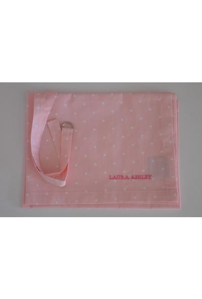 Laura Ashley Bebek Emzirme Önlüğü Floral Patchwork - Pembe Üzeri Puantiyeli