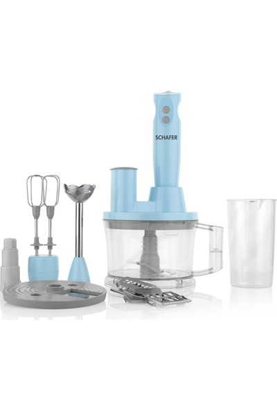 Schafer Elektro Chef 15 Parça Mega Blender Set - Tur01