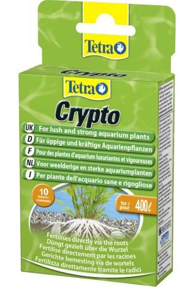 Tetra Crypto 10 tabs Akvaryum Taban Bitki Gübresi
