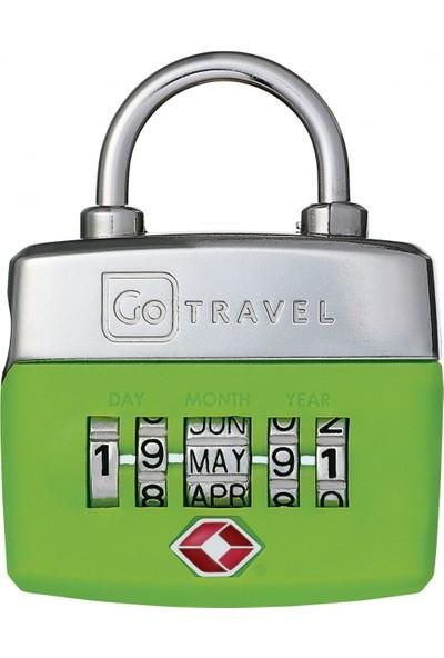 Go Travel Birthday Şifreli Bagaj Kilidi 355 / YEŞİL - STD