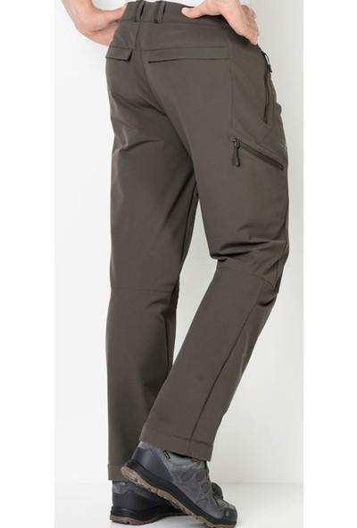 Jack Wolfskin Erkek Outdoor Pantolonu 1503601-7010 Activate Thermic Pants Men Kahverengi