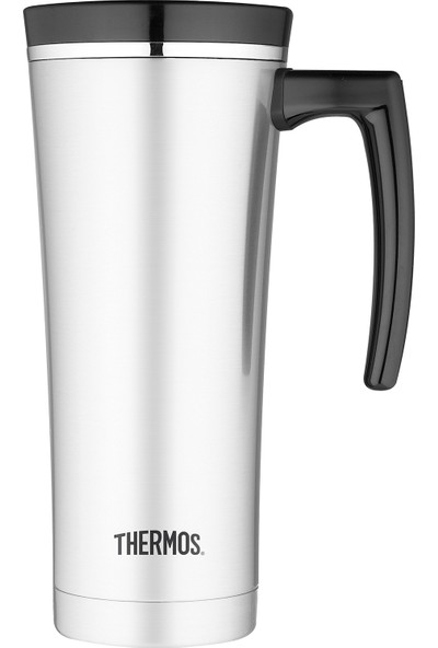 Thermos NS 100 Çelik Mug Termos 470ml. Siyah 191802 / SİYAH - STD
