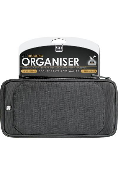 Go Travel RFID Korumalı Organizer 674 / SİYAH - STD
