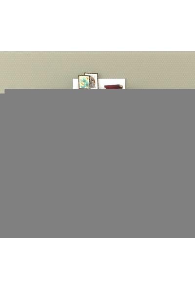 Sigmadecor Alnair Duvar Raflı Tv Ünitesi(Beyaz)