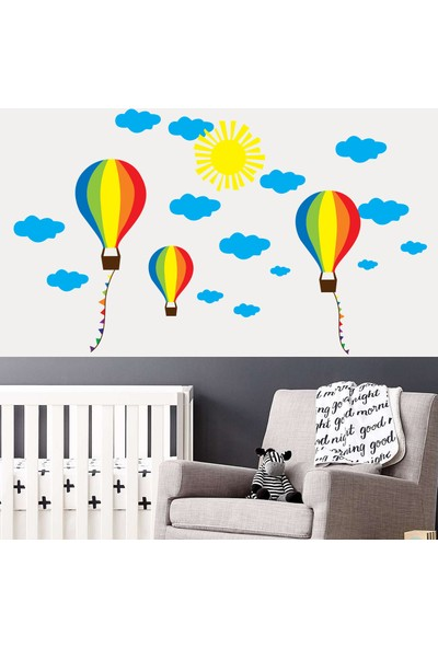 Artikel Balonlar 140x84 cm Duvar Sticker