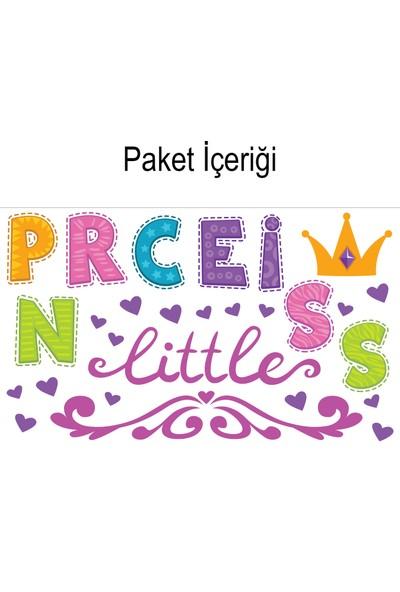 Artikel Küçük Prenses 90x64 cm. Duvar Sticker