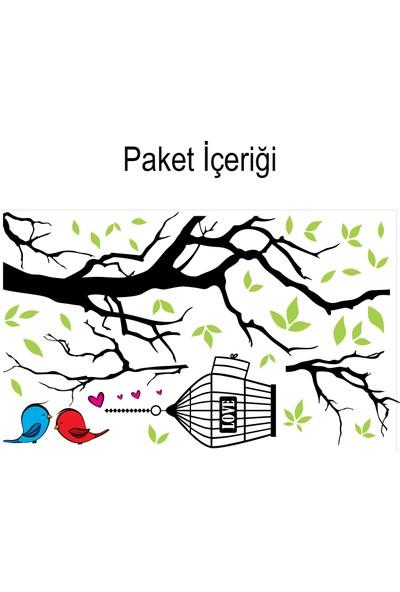 Artikel Aşık Kuşlar 132x99 cm. Duvar Sticker