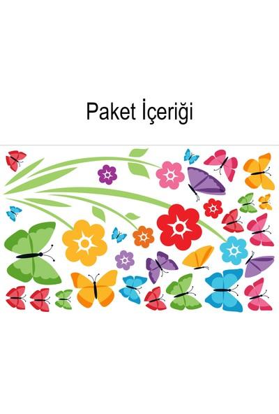 Artikel Kelebekler 162x132 cm.Duvar Sticker