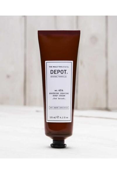 Depot No 404 Coothing Shaving Cream Yumuşatıcı Tıraş Kremi 125Ml