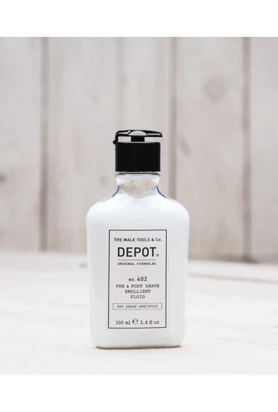 Depot No 402 Pre&Post Shave Emolliant Fluid Tıraş Öncesi Ve Sonrası Nemlendirici Losyon 100Ml