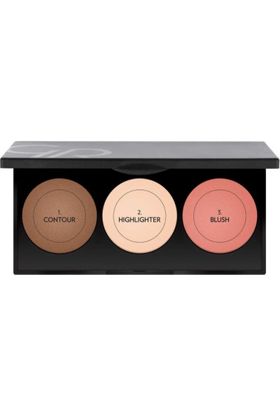 Golden Rose Metals Sculptıng Palette(Contour Highlighter Blush)