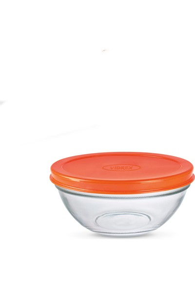 Vidrex Açelya 2'Li Plastik Kapaklı Cam Saklama Kabı