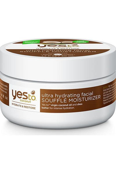 Yes To Coconut Ultra Hydrating Facial Souffle Moisturizer 50ml