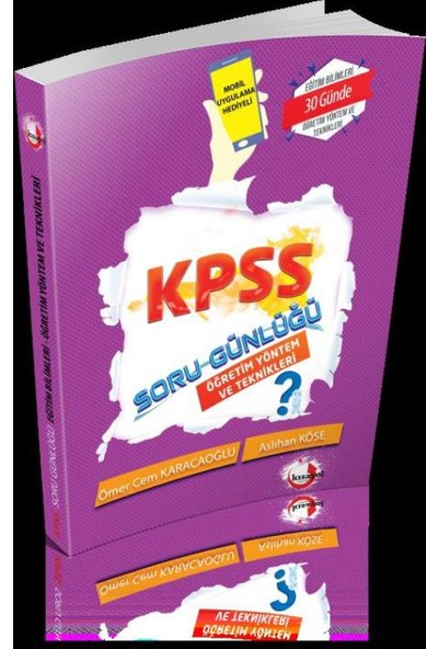 2018 Kpss Soru Günlüğü-Öğretim Yöntem Ve Teknikleri