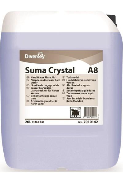 Diversey Suma Crystal Sanayi Tipi Bulaşık Makinesi İçin Parlatıcı 20 lt