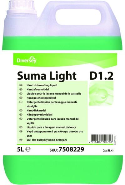 Diversey Suma Light D12 Elde Bulaşık Yıkama Deterjanı 5 15 kg