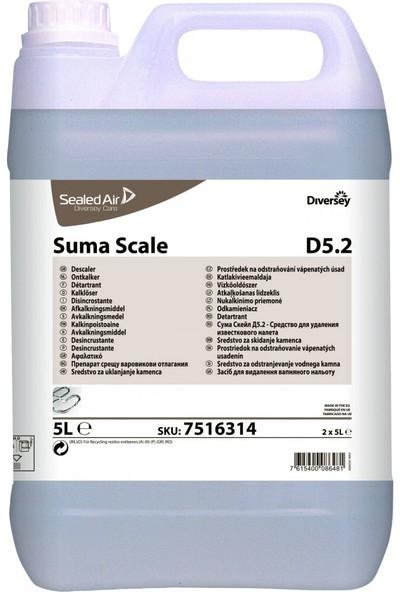 Diversey Suma Scale Bulaşık Makineleri İçin Kireç Çözücü 5 lt