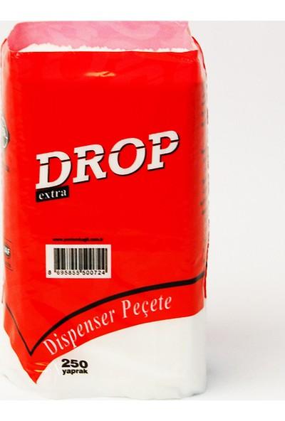 Drop Dispenser Peçete 250 Adet x 18 Paket