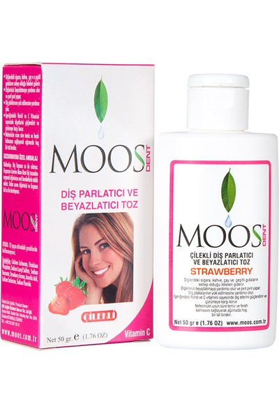 Moos Tooth Powder Strawberry 50g