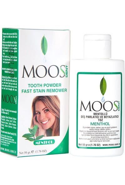 Moos Dent Mentollü Diş Parlatıcı Ve Beyazlatıcı Toz