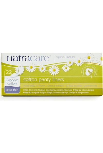 Natracare Organik Ped - Ultra İnce, Günlük 22 Adet