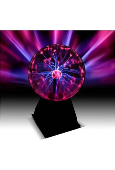 Buffer Plasma Storm Lamp - Müzikli Işıklı Plazma Küre Sihirli Cadı Küresi Plazma Küre Gece Lamba