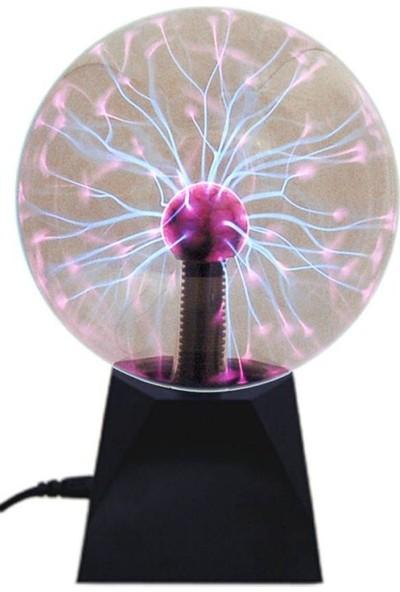 Plasma Storm Lamp - Müzikli Işıklı Plazma Küre Sihirli Cadı Küresi Plazma Küre Gece Lamba