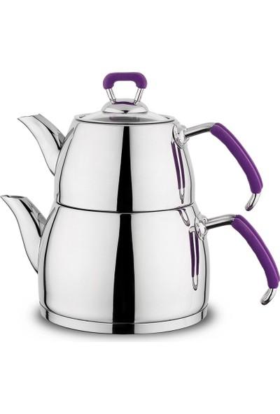 Schafer Perfect Çaydanlık - Mor