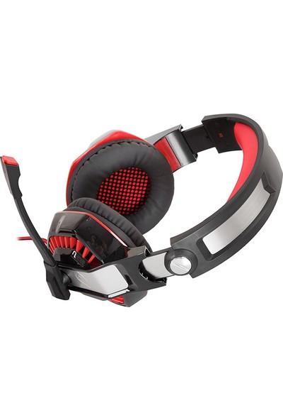 Rampage Rivia G40 USB 7.1 Oyuncu Siyah/kırmızı Mikrofonlu Kulaklık