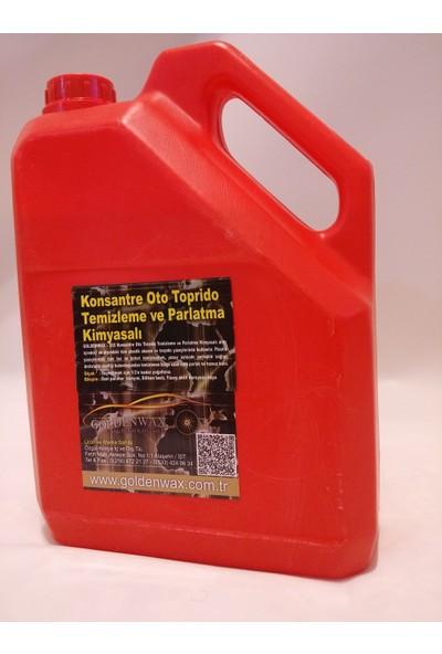 Goldenwax Gerçek Torpido Süt Plastik Parlatma Bakım Yenileme Kimyasalı 3Kg