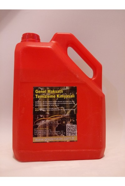 Goldenwax Antibakteryel Leke Çıkarıcı Koltuk Ve Oto İç Genel Temizlik Kimyasalı 3Kg