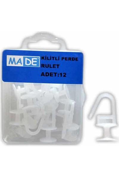 Made Kilitli Perde Rulet ( 1 Kutu: 12 Adet)