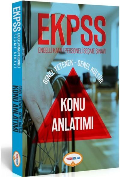 Yediiklim Yayınları E-KPSS Genel Yetenek-Genel Kültür Tüm Dersler Konu Anlatımlı