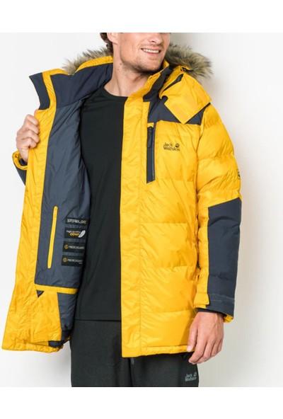 Jack Wolfskin Sarı Erkek Outdoor Mont 1201911-3802