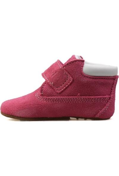 Timberland Pembe Bebek Ayakkabısı A1Jw3 H&L Crib Bootie