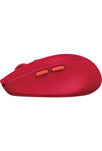 Logitech M590 Silent Red Kablosuz Bluetooth Mouse 910-005199