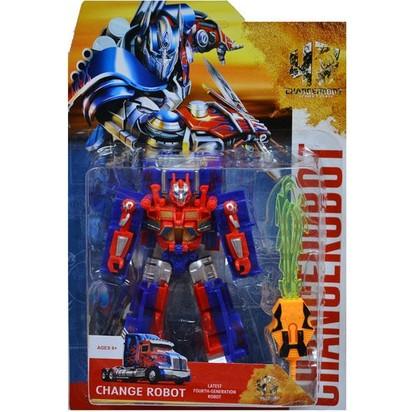 Erkol Oyuncak 9 - 52 Kart Transformers Robot