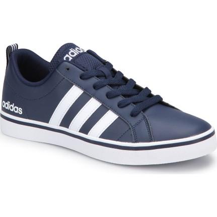 AdidasAdidas Vs Pace-1 Lacivert Beyaz Erkek Deri Sneaker