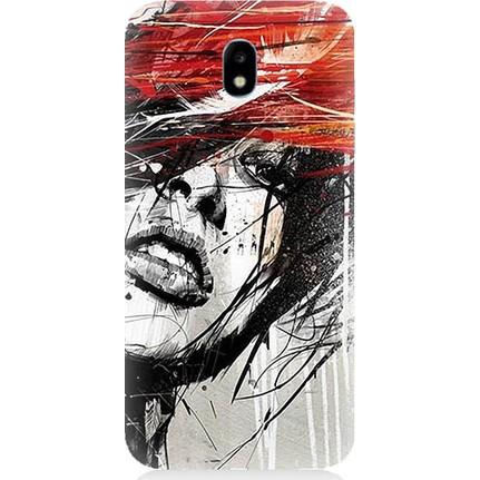 Teknomeg Samsung Galaxy J7 Pro Art Wallpaper Baskili Silikon Fiyati
