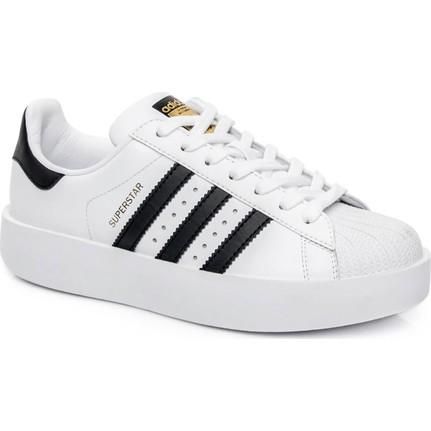 Adidas Superstar Beyaz Kadın Ayakkabı Ba7666