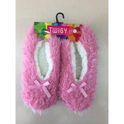 Twigy Lidia L0714 Pembe Kadın Ev Ayakkabısı