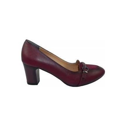 Ventes 4001257 Lacivert Topuklu Kadın Ayakkabı