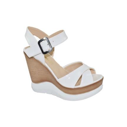Punto 560103 Beyaz Kadın Sandalet
