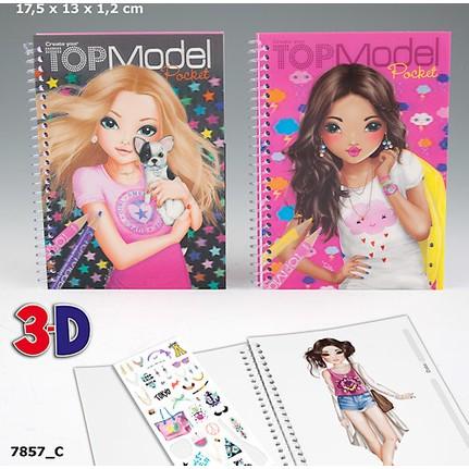 Top Model 3d Büyük Boy Boyama Kitabı Dk07857 1 Fiyatı
